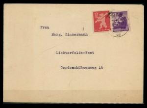 SBZ BERLIN-BRANDENBURG Brief siehe Beschreibung (205309)