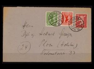 SBZ BERLIN-BRANDENBURG 1945 Nr 1-5 gestempelt (206227)