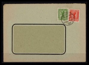 SBZ BERLIN-BRANDENBURG 1945 Nr 1+3 gestempelt (206230)