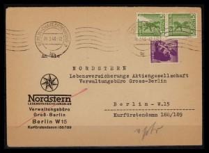 SBZ BERLIN-BRANDENBURG 1945 Nr 1+2 gestempelt (206237)