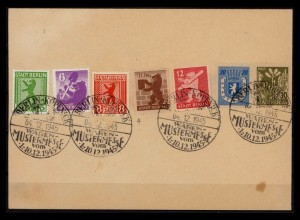 SBZ BERLIN-BRANDENBURG 1945 Nr 1-7 gestempelt (206250)