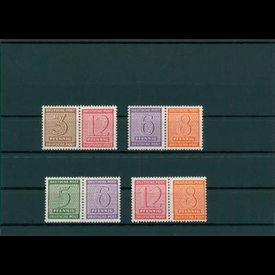 SBZ 1945 WZd13-16 postfrisch (400011)