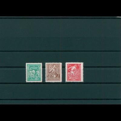 SBZ 1945 Nr 23-25a postfrisch (400014)