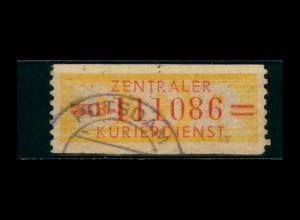 DDR ZKD 1958 Nr 17B VI gestempelt (400919)