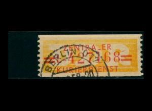 DDR ZKD 1958 Nr 17L V gestempelt (400920)