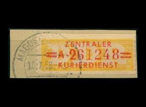 DDR ZKD 1958 Nr 17A I gestempelt (400925)