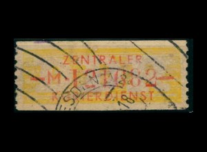 DDR ZKD 1958 Nr 16M I gestempelt (400926)
