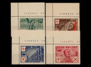 BELGIEN 1941 Nr I-IV postfrisch (401685)