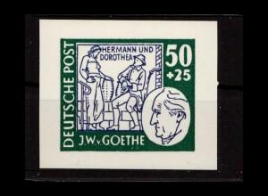 SBZ 1949 Goethe Probedruck postfrisch (402476)