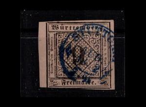 WUERTTEMBERG 1851 Nr 4 gestempelt (403391)