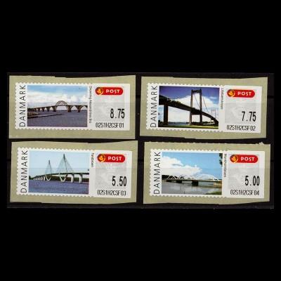 DAENEMARK ATM 2008 Nr 42-45 S1 postfrisch (403398)