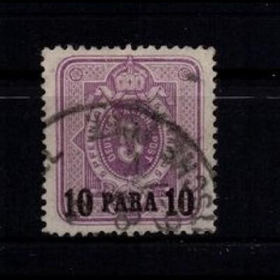 DP TUERKEI 1884 Nr 1 B gestempelt (403604)