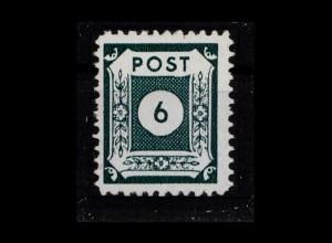 SBZ 1945 Nr 43DIIb postfrisch (404005)