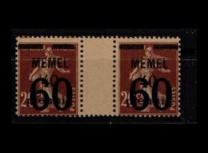MEMEL 1921 Nr 35 ZW postfrisch (404336)