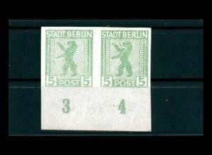 SBZ 1945 Nr 1AA uy U postfrisch (500036)