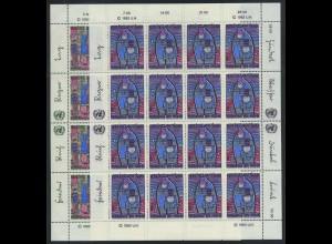 UNO WIEN 1983 Nr 36-37 postfrisch (700918)