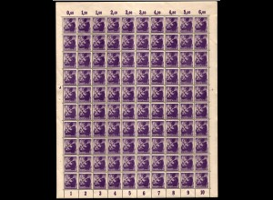 SBZ 1945 Nr 2A wbzt postfrisch (701007)