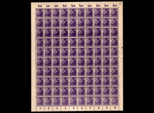 SBZ 1945 Nr 2A wbzt postfrisch (701012)