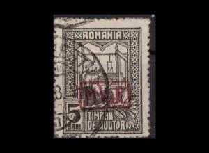 MV IN RUMAENIEN 1918 Nr ZZ5a gestempelt (405078)