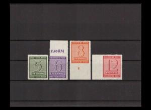 SBZ 1945 Nr 116-119D postfrisch (405181)