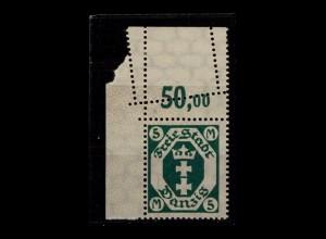 DANZIG 1921 Nr 108 Y postfrisch (405968)