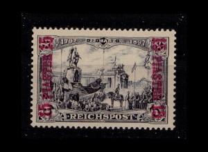 DP TUERKEI 1900 Nr 22 I/II postfrisch (405971)