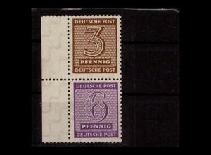 SBZ 1945 SZd3 postfrisch (406031)