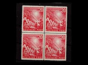 BUND 1949 Nr 112 postfrisch (406040)