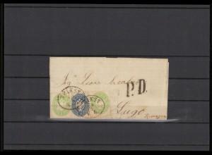 LOMBARDEI + VENETIEN 1864 Nr 20+22 siehe Beschreibung (209866)