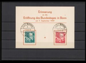 BUND 1949 Nr 111-112 gestempelt (209893)