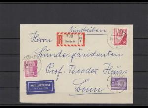 BERLIN 1957 Brief siehe Beschreibung (209919)