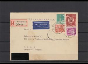 BERLIN 1956 Brief siehe Beschreibung (209920)