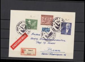 BERLIN 1954 Brief siehe Beschreibung (209923)
