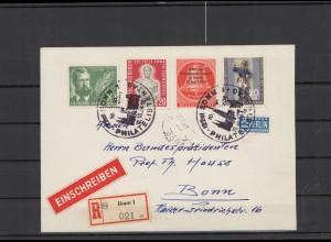 BERLIN 1954 Brief siehe Beschreibung (209924)