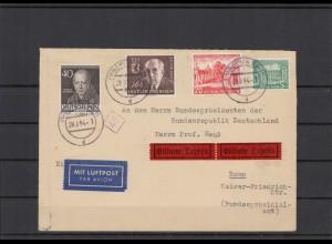 BERLIN 1954 Brief siehe Beschreibung (209926)
