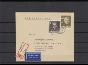 BERLIN 1954 Brief siehe Beschreibung (209928)