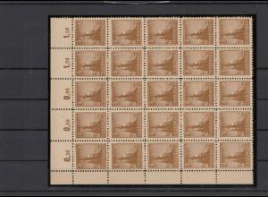 SBZ 1945 Nr 92AY z1 postfrisch (210105)