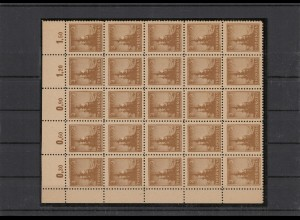 SBZ 1945 Nr 92AX v postfrisch (210106)