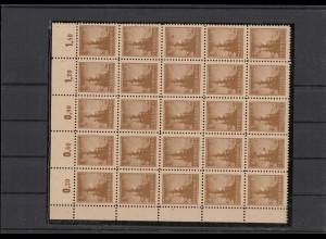 SBZ 1945 Nr 92AY z2 postfrisch (210107)