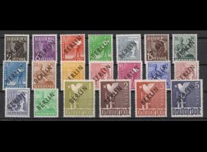 BERLIN 1948 Nr 1-20 postfrisch (210109)