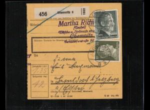 Paketkarte 1942 CHEMNITZ siehe Beschreibung (210134)
