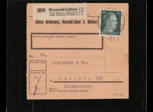 PAKETKARTE 1943 NEUENKIRCHEN siehe Beschreibung (210687)