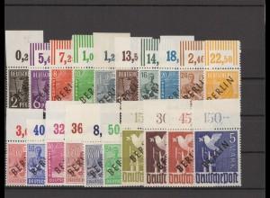BERLIN 1948 Nr 1-20 postfrisch (211748)