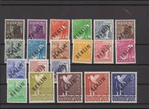 BERLIN 1948 Nr 1-20 postfrisch (211755)