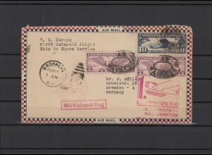 USA 1930 Katapultflug-Beleg siehe Beschreibung (211777)