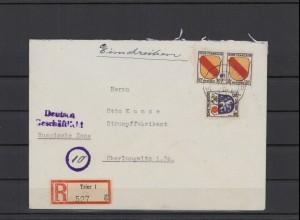 FRZ.ZONE 1946 interessanter Brief (211923)