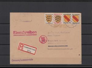FRZ.ZONE 1946 interessanter Brief (211924)