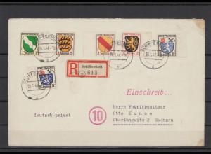 FRZ.ZONE 1946 interessanter Brief (211925)