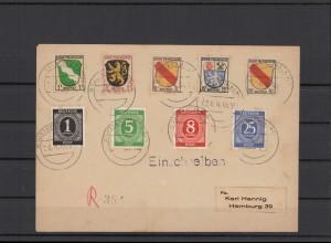 FRZ.ZONE 1946 interessanter Brief (211926)