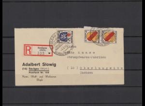 FRZ.ZONE 1946 interessanter Brief (211928)